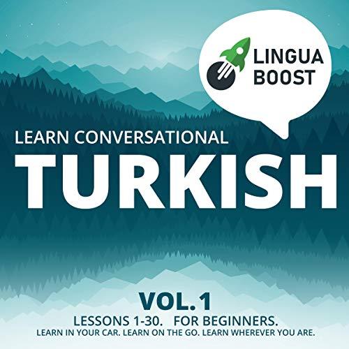 『Learn Conversational Turkish Volume 1』のカバーアート