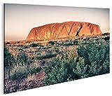 islandburner Bild Bilder auf Leinwand Ayers Rock Uluru