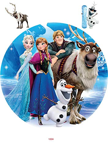 Tortenaufleger Tortenbild Geburtstag Frozen Die Eiskönigin Fondant 1224