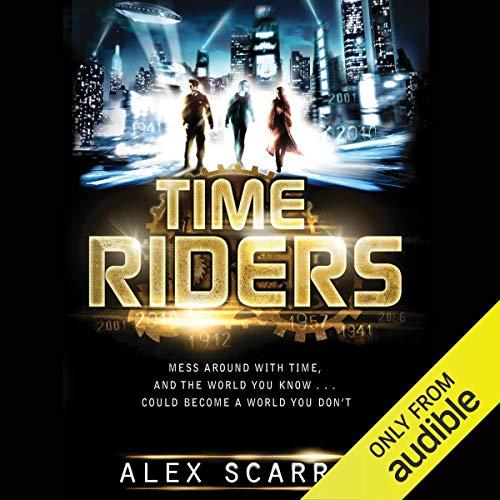 TimeRiders audiobook cover art