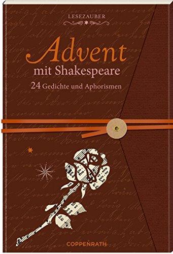 Briefbuch – Advent mit Shakespeare: 24 Gedichte und Aphorismen