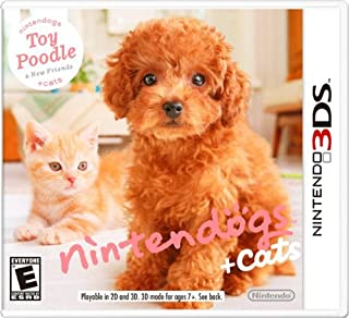 Nintendogs + Cats:  Toy Poodle and New Friends (B002I08ZTI) | Amazon price tracker / tracking, Amazon price history charts, Amazon price watches, Amazon price drop alerts
