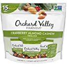 Orchard Valley Harvest ORCHARD VALLEY HARVEST, 1 oz, Non-GMO, No Artificial Ingredients, Cranberry Almond Cashew Trail Mix, 15 Oz