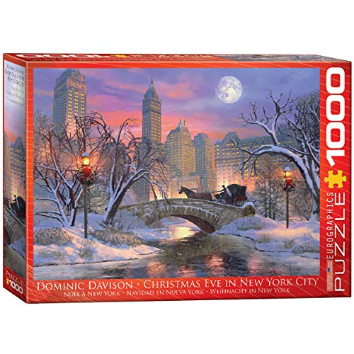 EuroGraphics Christmas Eve in New York City Puzzle (1000 Piece) (6000-0915)