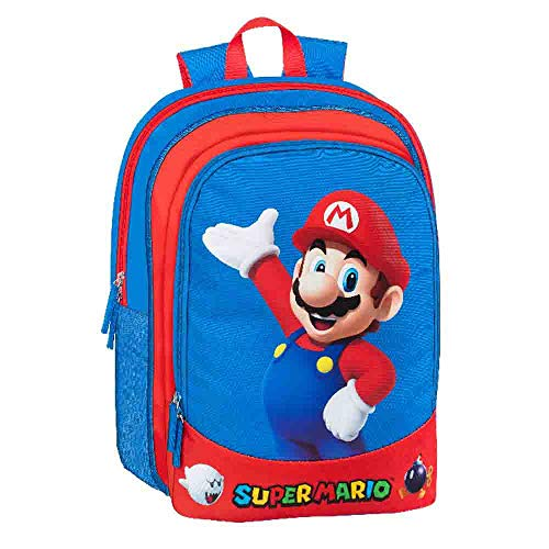 selezione varzi Mini Zaino Scuola Asilo Super Mario Bros franco cosimo Panini