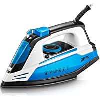 Deik Professional Grade Steam Iron with 15s Rapid Even Heat