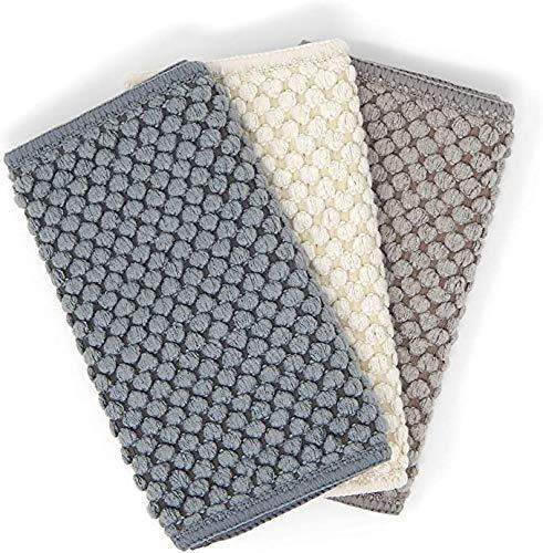 Norwex Counter Cloths: Slate, Vanilla, Mushroom