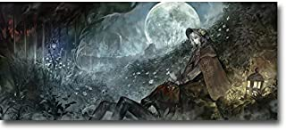 Lawrence Painting Bloodborne Art Canvas Poster Print Game Pictures For Living Room Decor Raven Master Boss Bb23