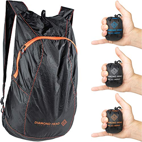 Diamond Head Equipment | Pali 20L Daypack | Ultralight Packable Hiking Backpack | 2.3 Ounces | Designed in Hawaii