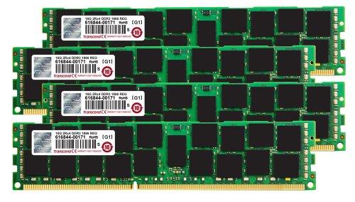 Transcend TS64GJMA535Z JetMemory Arbeitsspeicher 64GB (4X 16GB, 1866MHz, CL13) für Apple Mac Pro DDR3-RAM Kit