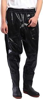 comprar comparacion Impermeable Pantalones Vadeadores De Pesca Medio Cuerpo Botas Waders para Pesca De Lanzar Transpirables Unisexo