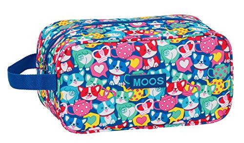 safta 812018682 Bolso Zapatillas zapatillero Moos, Multicolor