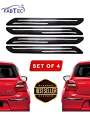 Fabtec Universal Car Bumper Protector Guard (Set of 4)