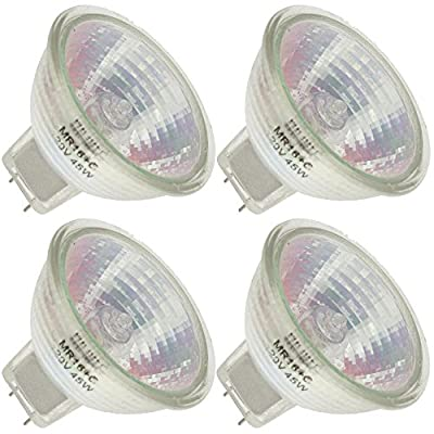 Industrial Performance Q45MR16/FL 120V, 45 Watt, MR16, Bi-Pin (GU7.9/8.0) Base Light Bulb (4 Bulbs)