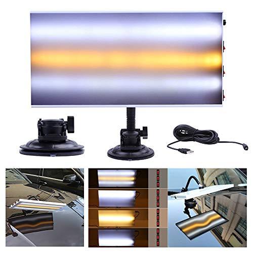 Reparación Herramienta PDR Light para automóviles, con soporte ajustable para herramienta de prueba de eliminación de abolladuras del cuerpo del automóvil