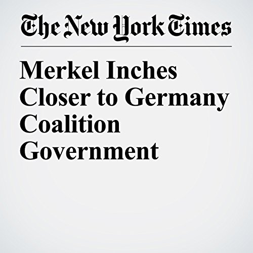 Merkel Inches Closer to Germany Coalition Government copertina