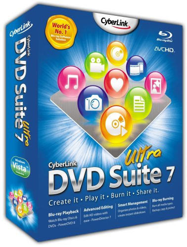 CyberLink DVD Suite 7 Ultra (PC CD) [Import anglais]