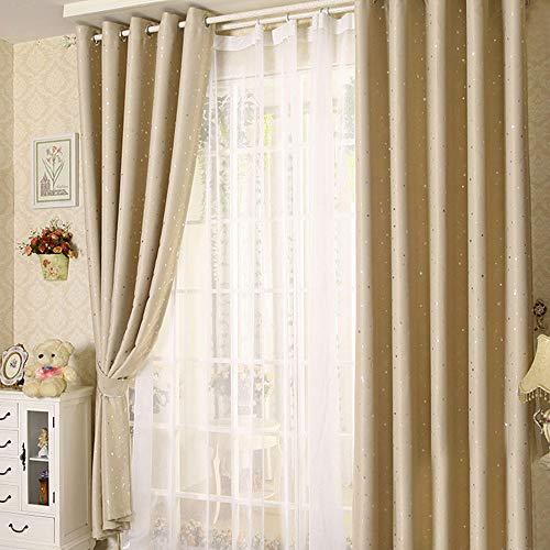 cortinas estrellas habitacion