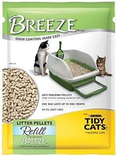 Tidy Cats Breeze Cat Litter Pellets, Refill 3.5 lb