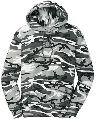 Joe's USA Camoflauge Hooded Sweatshirt,Medium Winter Camo
