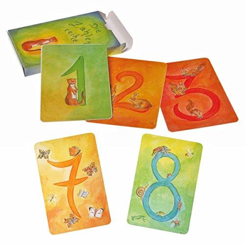 Grimm's 40500 - Kartenspiel Zahlenreihe (48 Blatt)