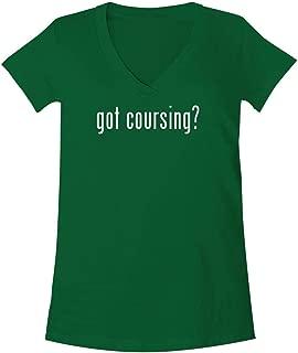 The Town Butler got Coursing? - A Soft & Comfortable Women's V-Neck T-Shirt
