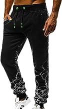 NOBRAND Pantalones deportivos casuales para hombre de ajuste gradual