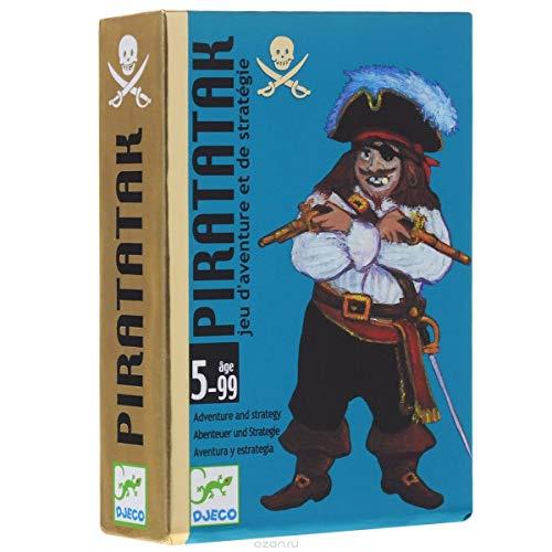 Djeco- Juegos de cartasJuegos de cartasDJECOCartas Pirataka, Multicolor (36)