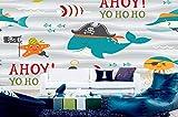 JJXBBL Fondo de pantalla 3D personalizado Acuario Dibujos animados HD Habitación para niños Fondo Pared Sala de guardería Entretenimiento Ciudad-450cmX300cm