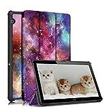 TOPCASE for Huawei MediaPad T5 Case, Ultra Slim Smart Case