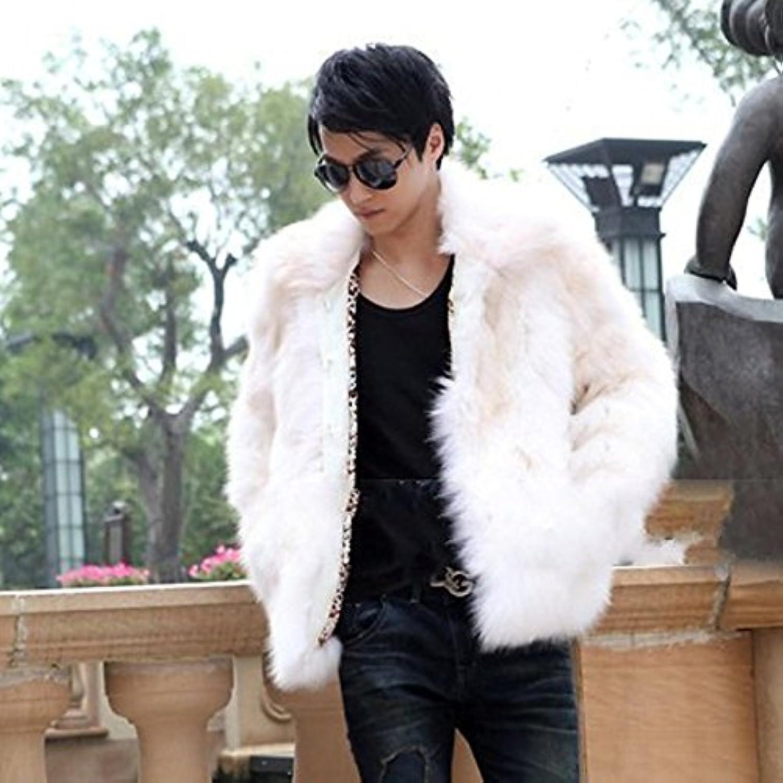 Lemumu Winter Faux Fur Coat Long Sleeve Coat