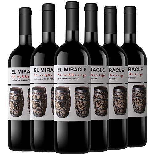 El Miracle By Mariscal Vino Tinto Garnacha Tintorera D.O. Valencia 6 Botellas - 750 ml