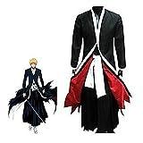 Harry Shops Bleach Ichigo Bankai Costume Set-Medium Black
