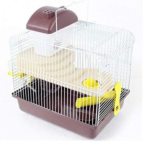 Lankater Hamsterkäfig Double-Layer-Kleintier Villa Nest Für Igel Meerschweinchen Chinchilla