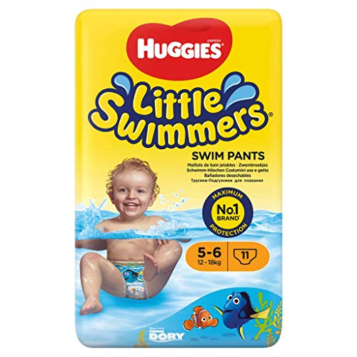 Huggies Pañales Little Swimmers para Nadar, Talla 5/6