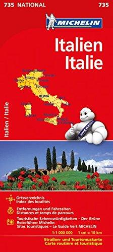 landkarten italien