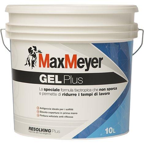 Gel Plus Lt.10Blanc la spécial formule tixotropica qui ne sale et permet de réduire les temps de travail.