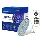 LED Pool Light 120V 40Watt Color-Changing with Remote...