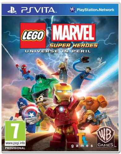 Jogo Lego Marvel Super Heroes PS Vita
