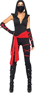 New Halloween Pirate Costume Japanese Anime Ninja Warrior Costume Masked Woman Uniforms (Color : Black, Size : XL)