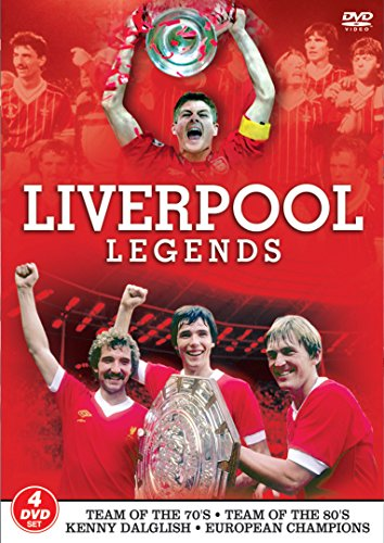 Liverpool Legends FC Football Club Legends 4 Disc DVD Team of the 70s Team of the 80s Kenny Dalglish European Champions