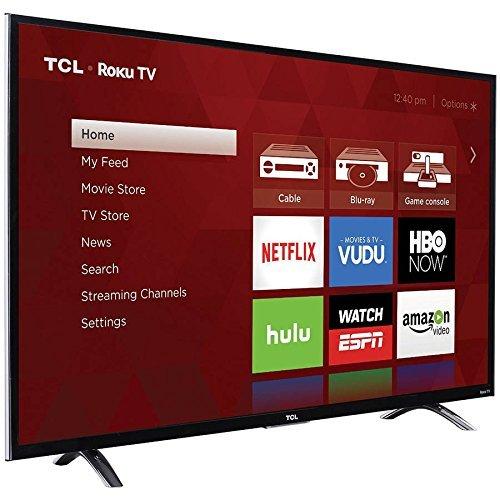 TCL 50UP120 50' Class 4K UHD Roku Smart LED TV