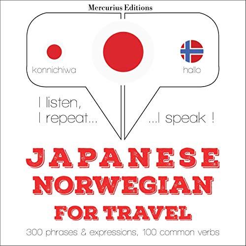 Japanese - Norwegian. For travel cover art