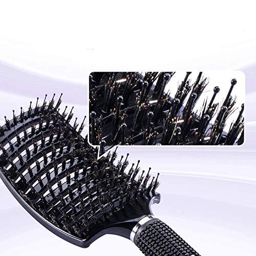 (2 piezas) El mejor peine para cabello largo, cabello fino, cabello rizado o liso, cabello rizado y ondulado