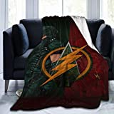 KGSPK Ultra-Soft Micro Fleece Blanket,Ar-Row Fl-ash,Home Decor Warm Throw Blanket for Couch Bed,60'X 50'