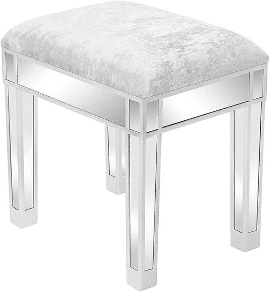 JQL Super special price Ottomans Velvet Footrest Stool Ottoman Upholstered sale Modern Va