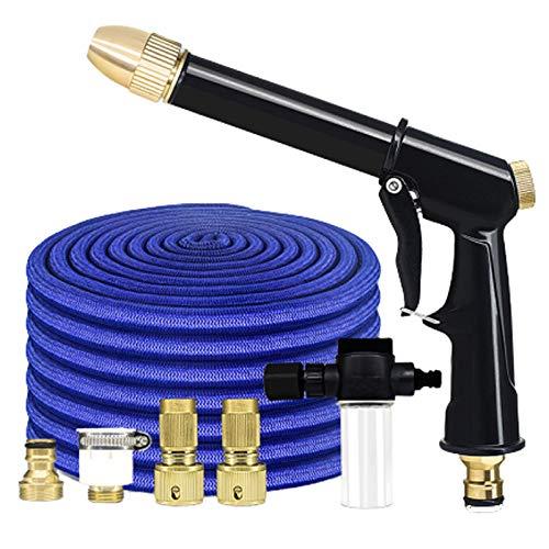 Gartenschlauchbefestigungen Spritzpistole 30m Teleskopschlauch für Garten-, Auto-Bewässerungs-, Reinigungs- und Duschhaustier, schrumpfende Gartenschläuche
