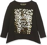 Guess LS T-Shirt, Nero (Jet Black), Neonato (Taglia Produttore:5) Bimba