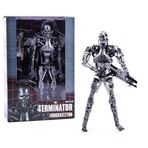 CQ Terminator 2: Ultimate T-800 Figura de (Endoskeleton) La Figura de acción de la película de la Obra Maestra Collector Toys