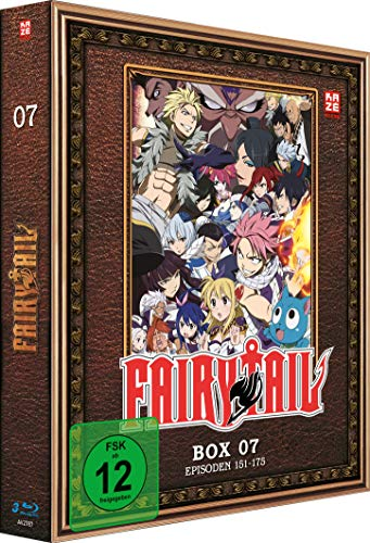 Fairy Tail - TV-Serie - Blu-ray Box 7 (Episoden 151-175)
